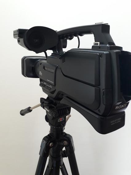 Camera Sony Hvr-hd1000n Com Tripe E Maleta
