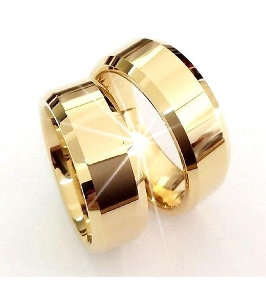 Par Alianças Ouro 18k 6mm 6 Gramas Casamento!