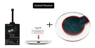 Kit De Carga Qi Inalambrico Compatible Con iPhone Y Android