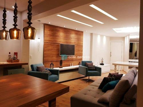 Imagem 1 de 30 de *saint Pietro - Sonho De Morar Bem * Apartamento Com 3 Dormitórios À Venda, 120 M² Por R$ 850.000 - São Mateus - Juiz De Fora/mg - Ap1081