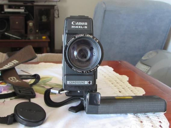 Filmadora Super 8 Modelo 514 Xl-s Canon