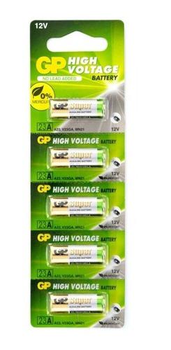 Pilas Baterías 23a Gp Blisters De 5 Unidades Originales
