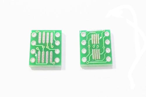 Pack X 5 Adaptador So8 Soic8 Sop8 Tssop8 Vssop8 A Dip8 Smd