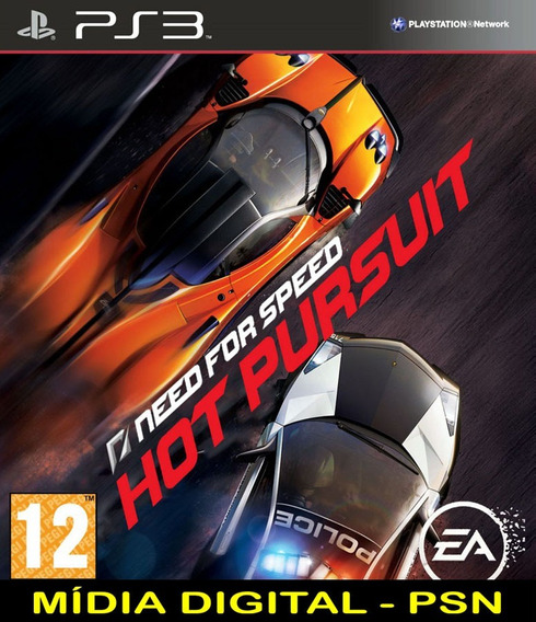 Need For Speed Hot Pursuit Ps3 Psn Envio Rápido