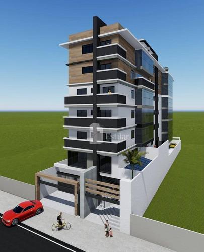Imagem 1 de 14 de Cobertura Duplex 03 Quartos (01 Suíte) E 02 Vagas No São Pedro, São José Dos Pinhais - Co0130