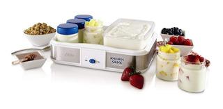 Oster Ckstym1010 Mykonos Greek Manual Yogurt Maker, 2 Cuarto