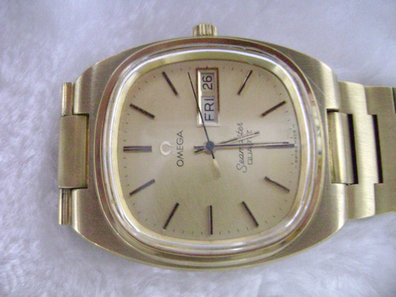 Excepcional Vintage Relógio De Pulso Omega Seamaster