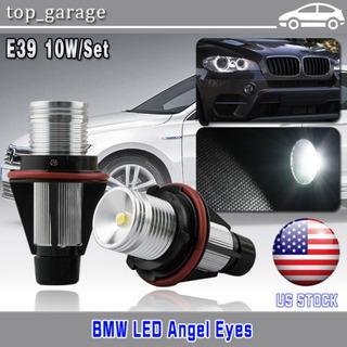 2 X Bmw E39 E60 E87 X 5 Led Angel Eye Halo Anillo Marcador