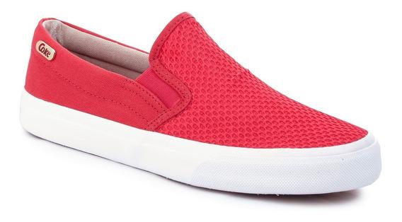 Zapatillas Coca Cola Shoes Iate Tela Urbanas Moda Mujer