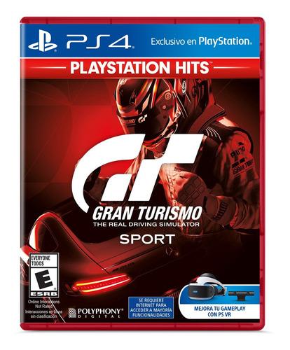 Imagen 1 de 3 de Gran Turismo Sport Ps4 Hits Formato Físico Original