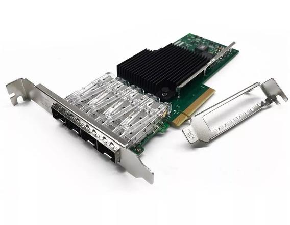 Placa De Rede Fibra X710-da4 Servidor Dell R410 R420 R630 R720 R730 Supermicro Hp Dl360 Dl380 G8 G9 Lenovo Thinkserver