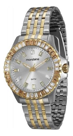 Relógio Mondaine Feminino Analógico Misto 94702lpmvba1