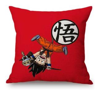 Funda Para Almohada Goku Dragon Ball