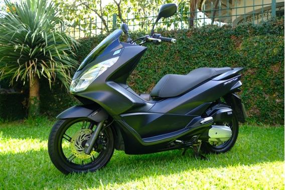 Honda Pcx 150 Negro Mate 2016