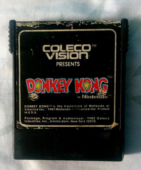 Donkey Kong Coleco Vision Atari 2600 Original Testado