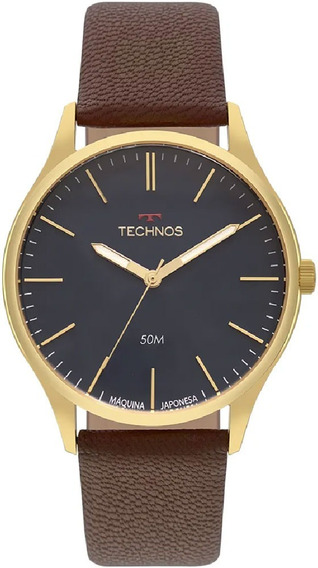 Relógio Technos Masculino Classic Steel 2035mqr/2a