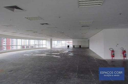 Laje Corporativa Para Alugar, 417m² - Brooklin - São Paulo/sp - Lj0409