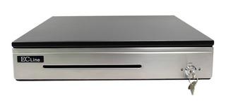 Cajon De Dinero Ec-line 100-p Premium Acero Inoxidable Rj-11