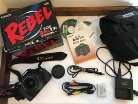 Camera Canon Eos Rebel T3i Com Acessórios