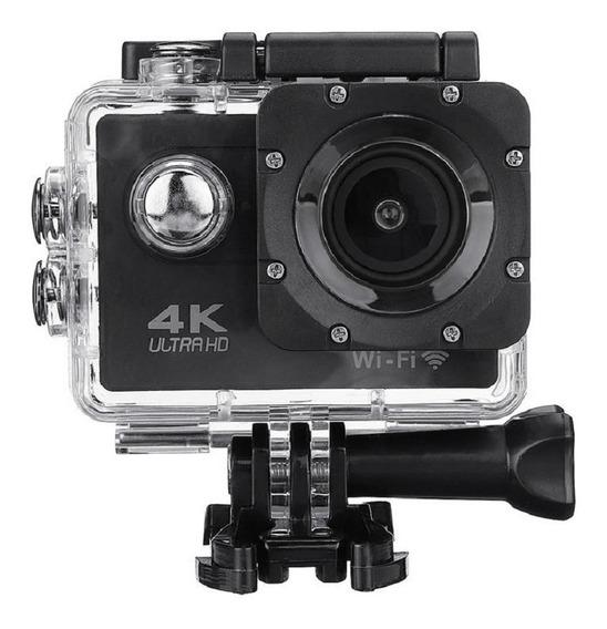 Câmera Action 4k Sport Go Cam Pro Wifi Ultra Hd Prova Dágua
