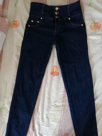 Pantalon Jeans De Dama Usado Talla 12 Leer Descrip