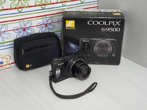 Câmera Nikon Coolpix S9500