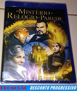 Blu-ray O Mistério Do Relógio Na Parede (lacrado)