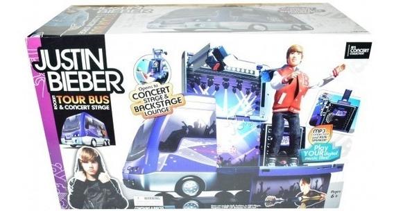 Justin Bieber Rockin & Concert Stage Tour Bus Open Box