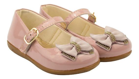 Sapatilha Feminina Infantil Laço Sapato Criança Boneca 07
