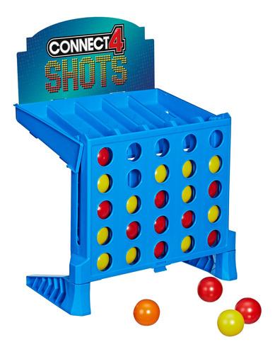 Imagen 1 de 5 de Hasbro Gaming Juego De Mesa Connect 4 Shots