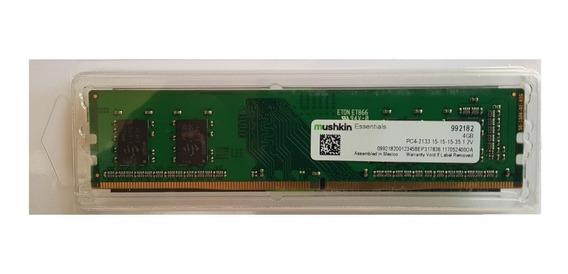 Ram Mushkin 4gb Ddr4 2133 Mhz Pc4-17000