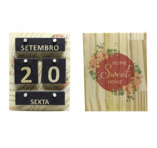 Imagem 1 de 1 de Calendario Home Sweet Home-clf0001