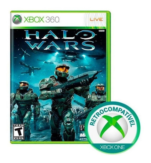 Halo Wars Original Jogo De Xbox 360