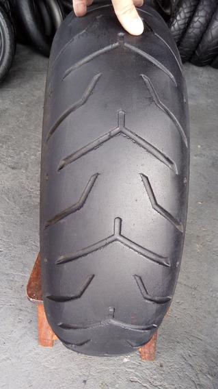 Pneu 180/65/17 Dunlop D407 Usado Bom Harley Davidson Custon