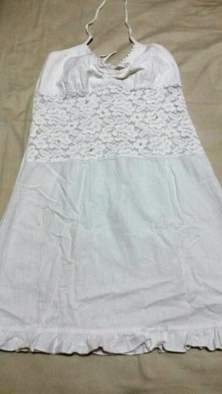 Vestido Casual Blanco Dama