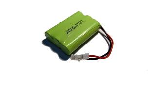 5 Baterías De 3.6v 600mah Forma 3xaaa Conector Universal