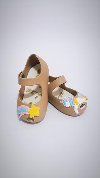 Sapatilha Sapatos Baby Femininos Tipo Melissa Unicornio