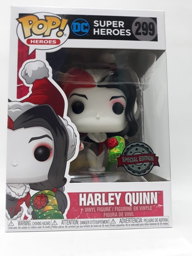 Funko Pop Heroes 299 Harley Quinn Special Edition