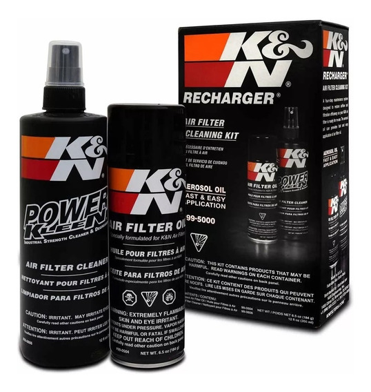 Kit De Limpeza Para Filtro De Ar K&n 99-5000 - Aerosol
