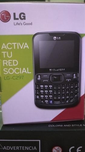 Celular LG-c297 Con Caja Para Doble Chip. Radio Y Facebook