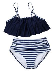 67909f3c00d12a Bikini Para Mujer Traje De Ba?o Ruffle Bra+tri ngulo Shorts