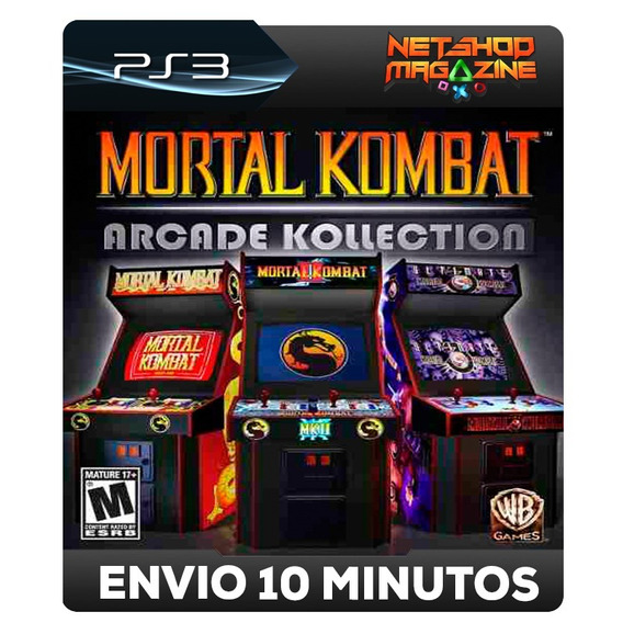 Mortal Kombat Arcade Kollection - Psn Ps3 - Envio Imediato