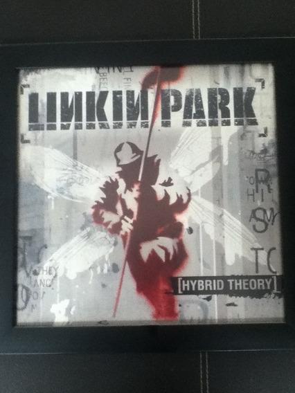 Disco De Vinilo Linkin Park Enmarcado