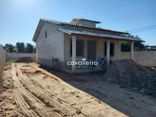 Casa Com 2 Dormitórios À Venda, 75 M² - Retiro - Maricá/rj - Ca4472
