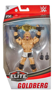 Figura Wwe Mattel Elite Goldberg Serie 74