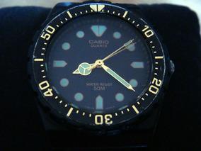 Raro Reloj Vintage Casio Mrw-80 Dial Diver