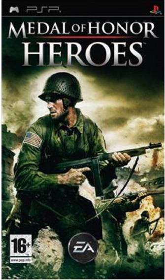 Psp Medal Of Honor Heroes - Novo - Lacrado