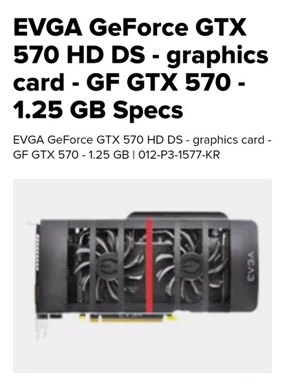 Gtx 570 Hd Ds Usada