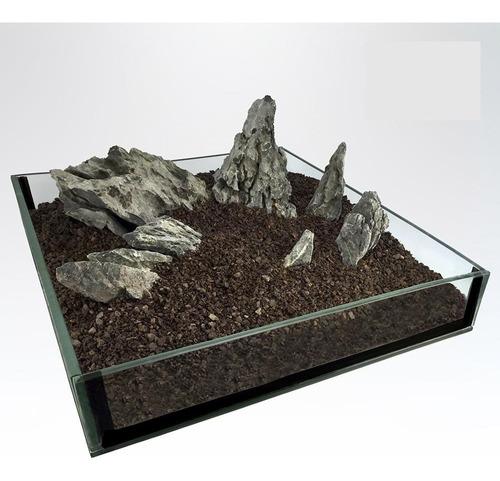 Imagen 1 de 4 de Roca Decorativa Modelo Seiryu Kit Para 120 Lt P/agua Dulce