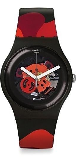 Reloj Swatch Tschurtschen Hombre Correa De Silicona Para Hom